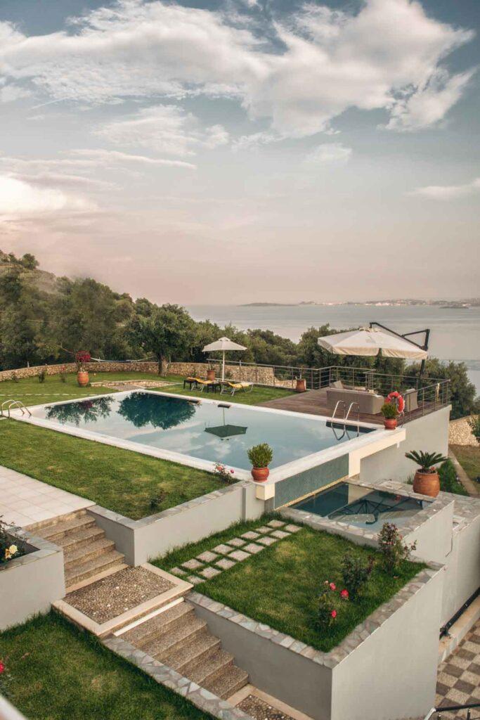Kastraki Epavlis Villa Corfu